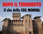 Sito Terremoto CGIL Modena