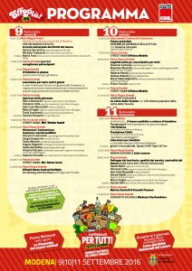 Programma giornate Modena