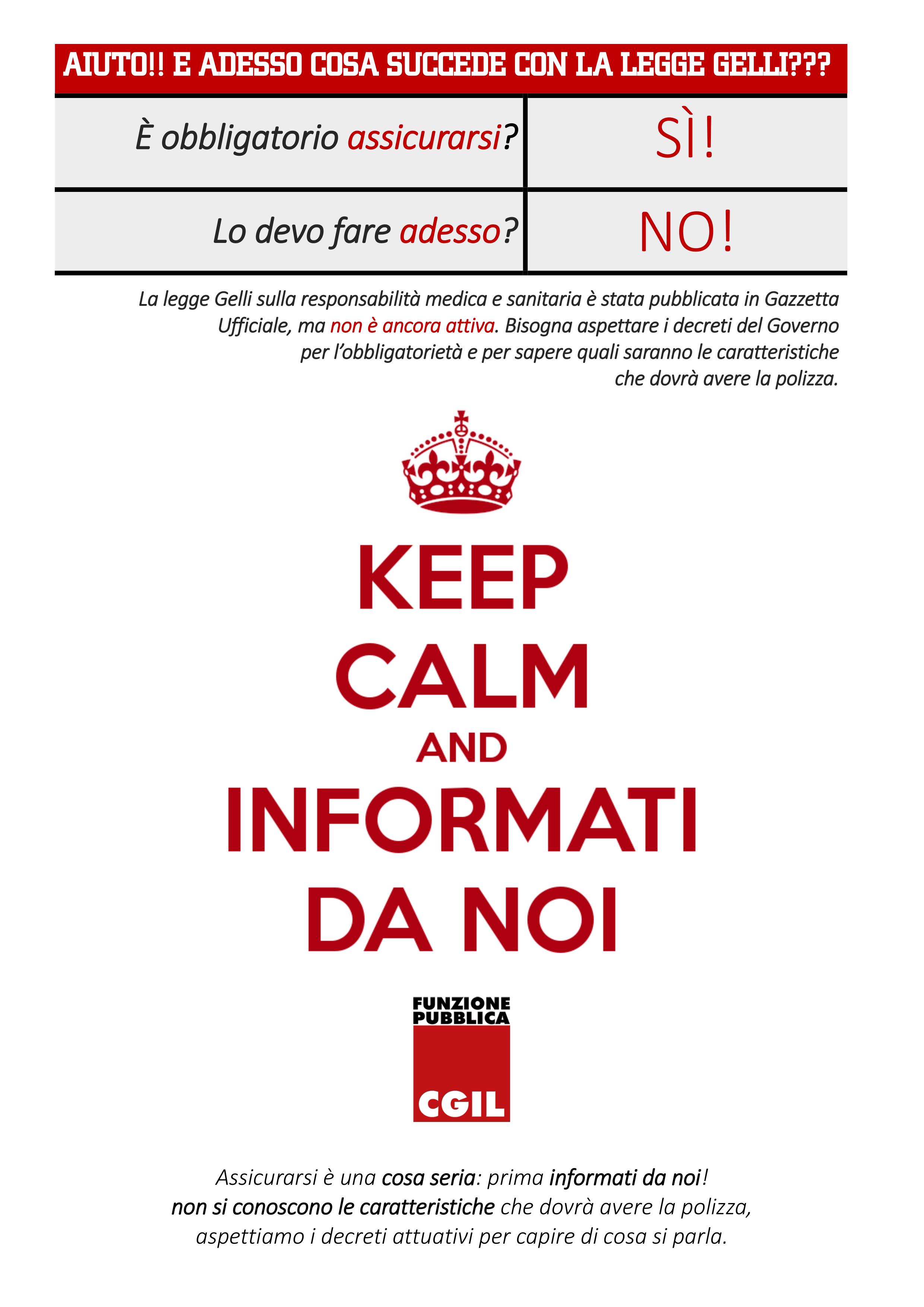 Gelli keep calm